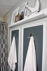 Bathroom Shelf With Hooks Best 25 Bathroom Towel Hooks Ideas Only On Pinterest Diy