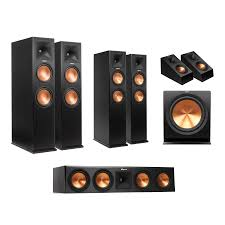genius sw 5 1 home theater speakers home audio u0026 headphones klipsch