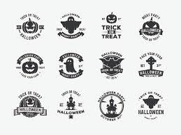 halloween vector art halloween vector badges