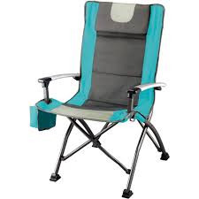 Canopy Folding Chair Walmart Ozark Trail Ultra High Back Folding Quad Camp Chair Walmart Com