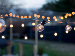Patio Lights Outdoor by How To Hang Outdoor String Lights From Diy Posts Hgtv