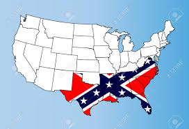 The Map Of The United States Of America by States Of The Confederate States Two Americas Alternative Maps
