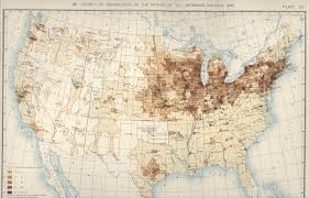Population Density Map United States by 1890 Population Distribution History U S Census Bureau