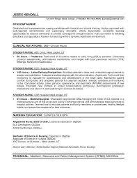 Sample Resume  Sle Resume Nursing Graduate School How
