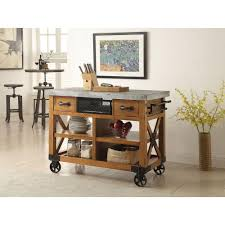 Kitchen Island Oak by Decorative Kitchen Cart Furniture White Distressed Oak Kitchen