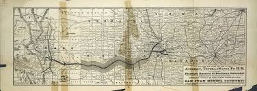 Southern Colorado Map by The Atchison Topeka And Santa Fe Railroad Pleasure Resorts Of