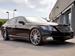 lexus coupe on 22s 22 u2033 lexus ls 460 breden forged co3 staggered custom wheels with