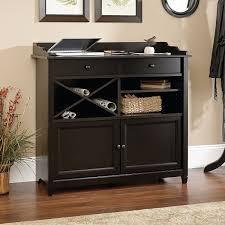 Sauder Black Bookcase by Amazon Com Sauder Edge Water Side Board Estate Black Buffets