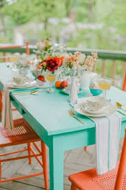 The  Best Painted Outdoor Furniture Ideas On Pinterest Cable - Colorful patio furniture