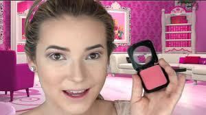 Halloween Barbie Makeup by Melting Barbie Halloween Makeup Tutorial Youtube