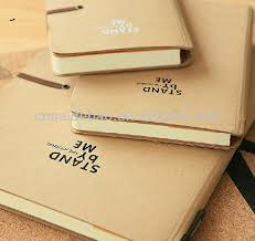 Eco recycled kraft paper custom kraft paper blank notebook     Dongguan Qishi Saidebao Leather Goods Produce Factory   Alibaba
