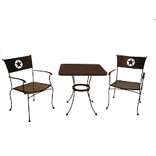 Lowes Gazebos Patio Furniture - furniture black metal lowes bistro set with round table for patio