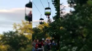 the horrifying moment a falls from ride at six flags new