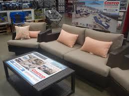 Costco In Store Patio Furniture - patio patio furniture at costco gray round unique wooden patio