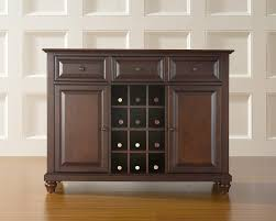 Crosley Furniture Kitchen Island Amazon Com Crosley Furniture Cambridge Wine Buffet Sideboard