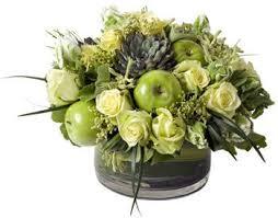 Table Flower Arrangements 94 Best Centerpieces Fruit And Flowers Images On Pinterest