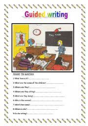 Getting to the Point    Short Writing Activities for Beginning ESL Students