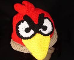 Cách móc mũ len hình chim Angry Birds