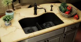 black kitchen sink images