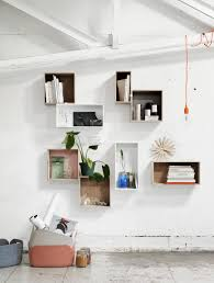 How To Make A Gallery Wall by Cube Shelves
