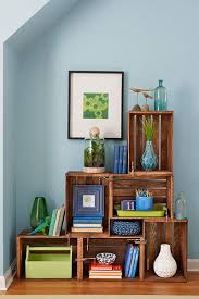 Build Wooden Shelf Unit by 25 Best Wood Crate Shelves Ideas On Pinterest Crates Crate