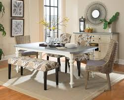 coaster matisse country cottage woven dining chair with cushioned