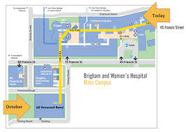 T Boston Map by Building For Transformative Medicine At 60 Fenwood Road Brigham