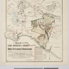 Los Angeles County Map by Calisphere Map Of A Portion Of Los Angeles County Showing The
