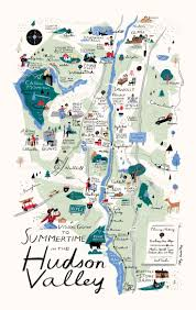 New York County Map by Nys Occupational Health Clinic Network 2014 Hudson Valley New