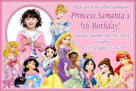 1st birthday princess invitation disney 1st birthday invitations vertabox com