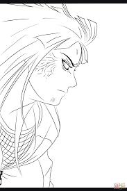 hinata hyuga coloring page free printable coloring pages