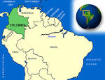 Map of <b>Colombia</b>