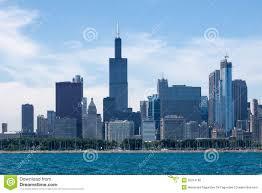 chicago skyline willis tower editorial photo image 25314196