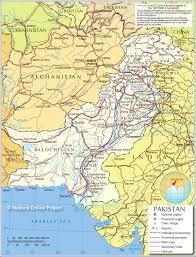 Pakistan On The Map Pakistan Map