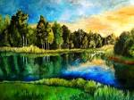 Estonian landscape by *DoodleWithGlueGun on deviantART
