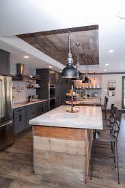 Counter Height Kitchen Islands Design Stainless Steel Material Industrial Kitchen Design