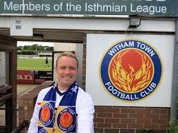 Witham FC fan James Beardwell lucky in love after starring in The     Harwich and Manningtree Standard Witham FC fan James Beardwell lucky in love after starring in The Undateables  From Harwich and Manningtree Standard