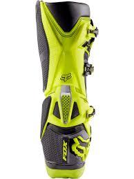 green motocross boots fox black yellow 2017 instinct mx boot fox freestylextreme