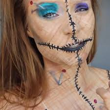 The 15 Best Sugar Skull Makeup Looks For Halloween Halloween by Be A Human Pincushion For Halloween Diy Voodoo Doll Costume