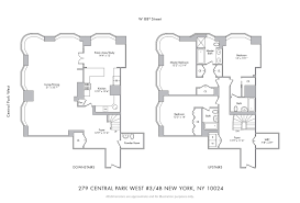 100 15 cpw floor plans the vaux 372 central park west