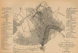 Map New Orleans French Quarter by New Orleans What Next Archive Cosmoquest Forum