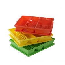 Plastic Dish Drying Rack Teenyweeny Home Essentials Plastic Dish Drainer Plate Rack