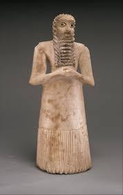 Standing male worshiper   Sumerian   Early Dynastic I II   The Met The Metropolitan Museum of Art