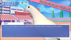 Pigeon dating sim Hatoful Boyfriend snuggles up to Steam on August