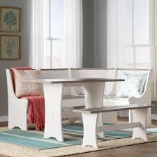 beachcrest home monroe 3 piece nook dining set kitchen