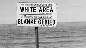 Apartheit Rassen