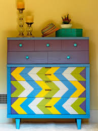 Hand Painted Furniture by Inspirations Painted Dresser Ideas For Elegant Interior Storage