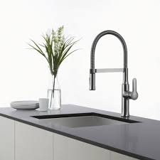 8 Kitchen Faucet Kraus Kpf1640ss Single Lever Flex Commercial Style Kitchen Faucet