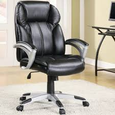 Brown Leather Task Chair Office Chairs Model Home Furnishings