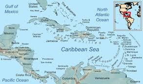 Thousand Islands Map Caribbean Sea Wikipedia